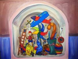 Mis memorias 1.20 m. x 90 cm 2015