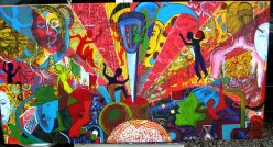 Traveling in life 24''x48'' 2008